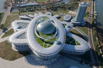 Những công trình khổng lồ ở đất nước bí ẩn nhất thế giới