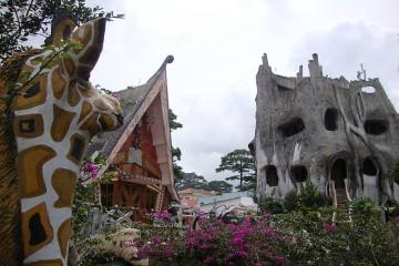 Những khách sạn quái dị tại Đà Lạt