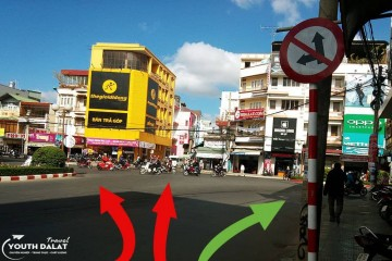 Top những con đường một chiều ở Đà Lạt nhất định bạn phải lưu ý!!!