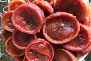 Dân Hà Nội hoang mang khi hồng sấy Trung Quốc mang nhãn Hồng sấy Đà Lạt tràn lan