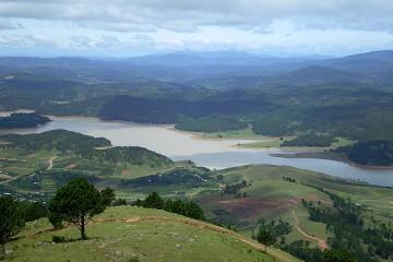 Tour ghép Đà Lạt 1 ngày tham quan Thung Lũng Vàng - núi Langbiang