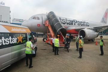 Máy bay không thể đáp xuống sân bay Đà Lạt vì thời tiết xấu