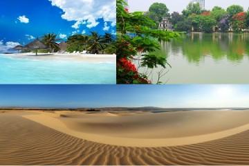 Quyến rũ và hấp dẫn với 10 địa điểm du lịch đẹp nhất Việt Nam