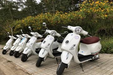 Dịch vụ cho thuê xe Vespa tại Đà Lạt