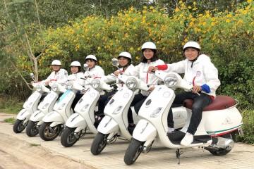 Tour khám phá Đà Lạt bằng xe Vespa