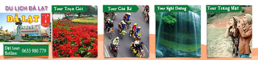 Du lịch Đà Lạt, Tour Đà Lạt 2016